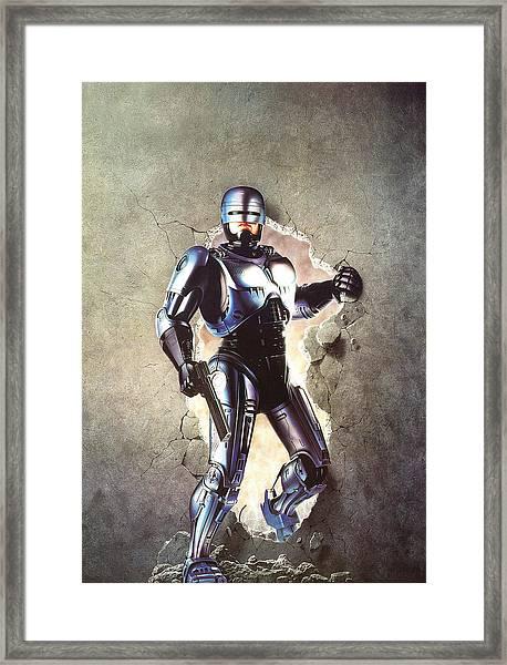 Robocop 1987  Framed Print