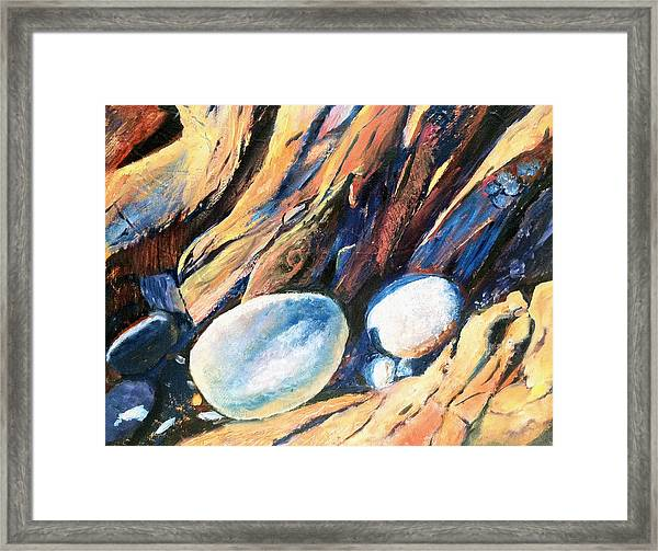 Rocky Beach Framed Print