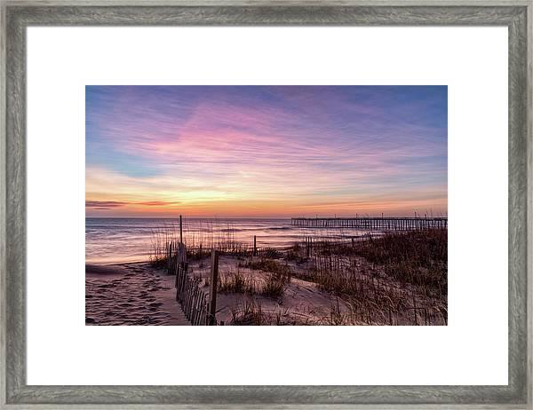 Rodanthe Sunrise Framed Print