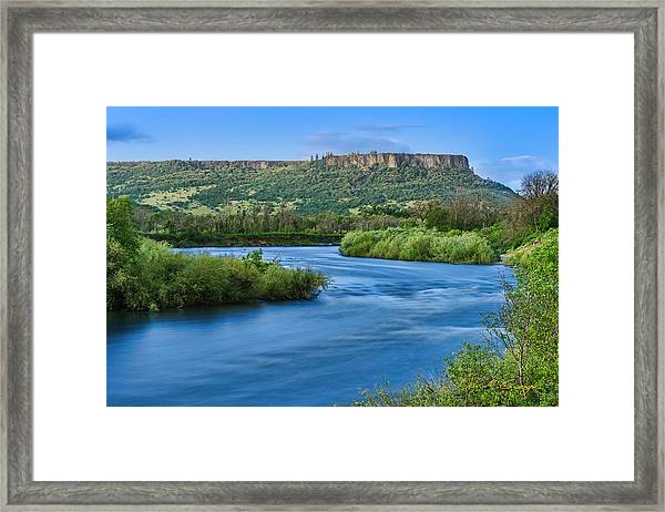 Rolling Along Framed Print