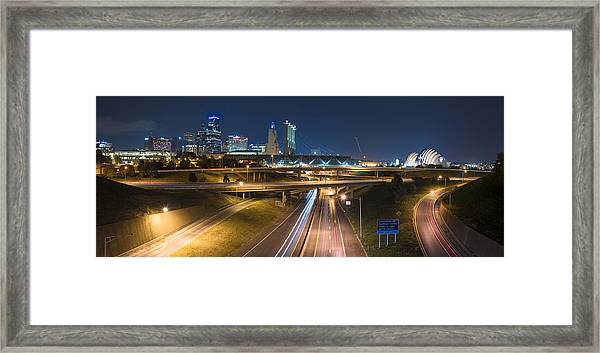 Royal Kc Framed Print