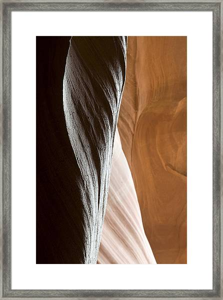 Sandstone Abstract Framed Print