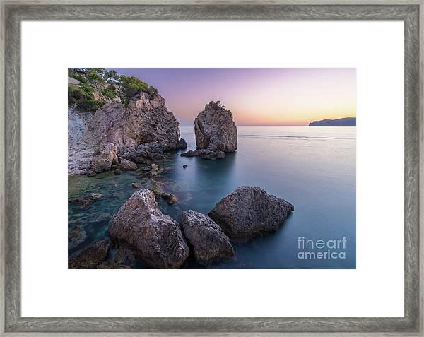 Santa Ponsa, Mallorca, Spain Framed Print