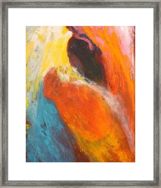 Saturday At The Grand Mayfair Framed Print by Bebe Brookman