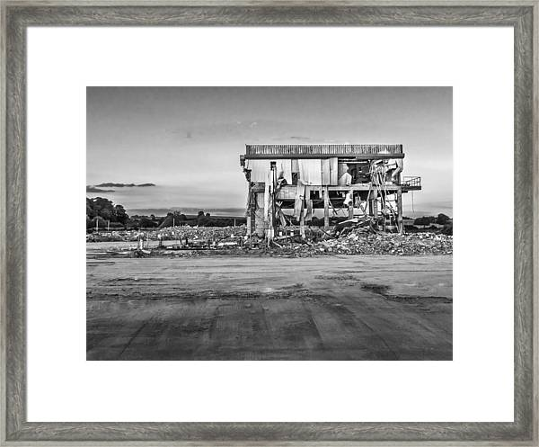 Framed Print featuring the photograph Seen Better Days by Nick Bywater