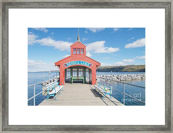 Seneca Lake Framed Print