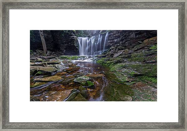 Shays Run Framed Print by Michael Donahue