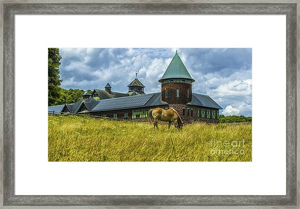 Shelburne Farms. Framed Print