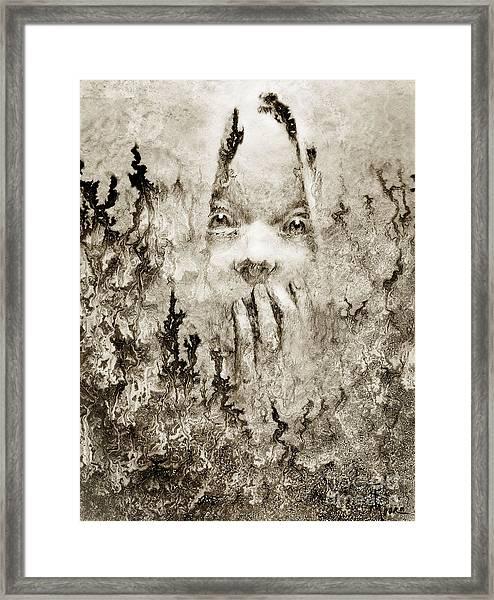 Should I Have Framed Print by Rick Moore