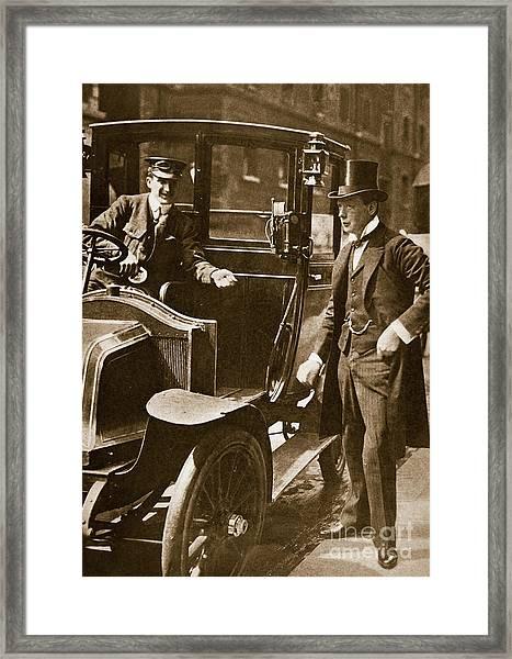 Sir Winston Churchill Framed Print