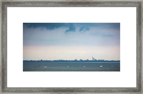 Solent Skies Framed Print