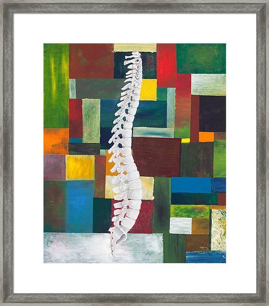 Spine Framed Print