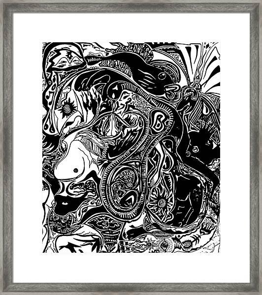 Spiritualbecoming Framed Print