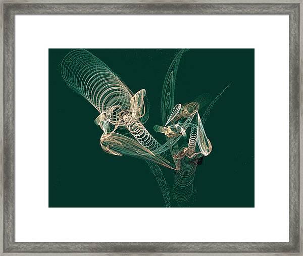 Sprung Framed Print