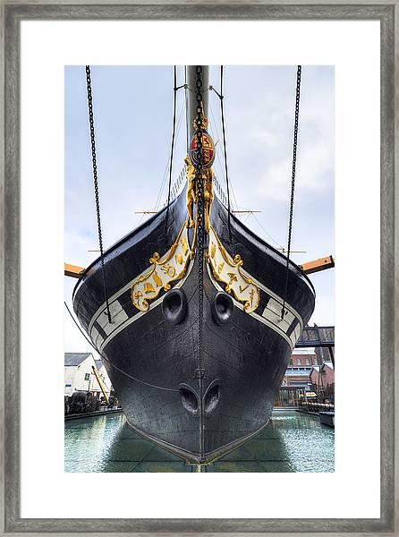 Ss Great Britain - Bristol Framed Print