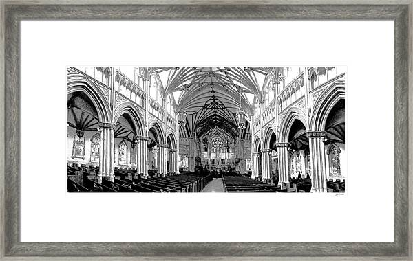 St Dunstans Basilica Framed Print