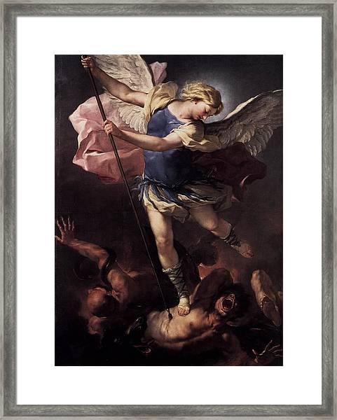 St. Michael Framed Print
