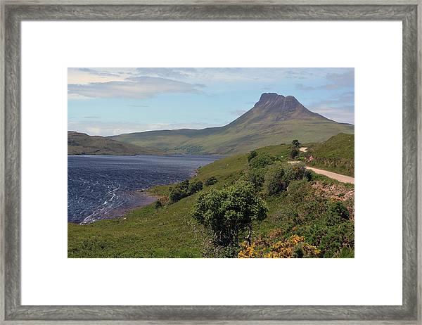 Stac Pollaidh Framed Print by Steve Watson