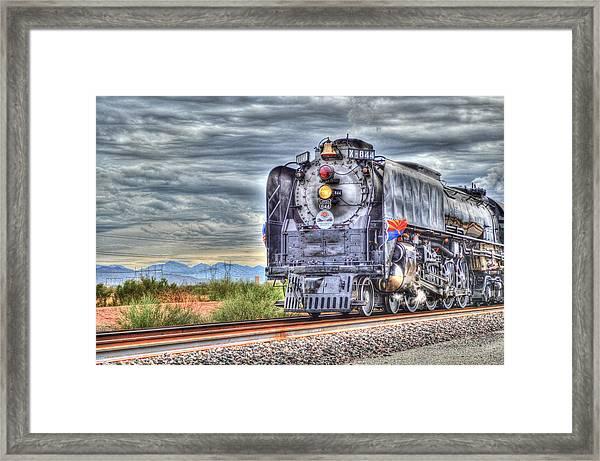 Steam Train No 844 Framed Print