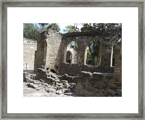 Sugar Mill Decay Framed Print