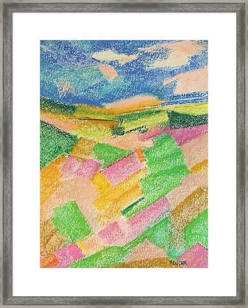 Summer Fields  Framed Print