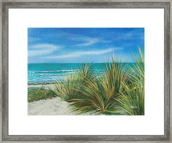 Surf Beach Framed Print