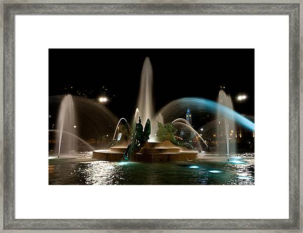 Swann Memorial Fountain Framed Print
