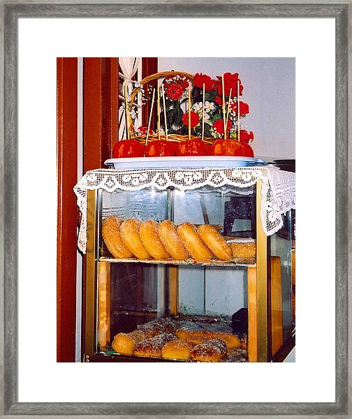Sweets Framed Print by Andrea Simon