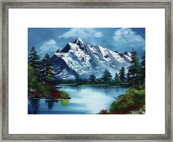 Take A Breath Framed Print