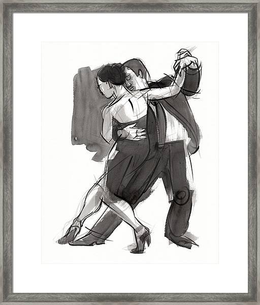 Tango 9 Framed Print