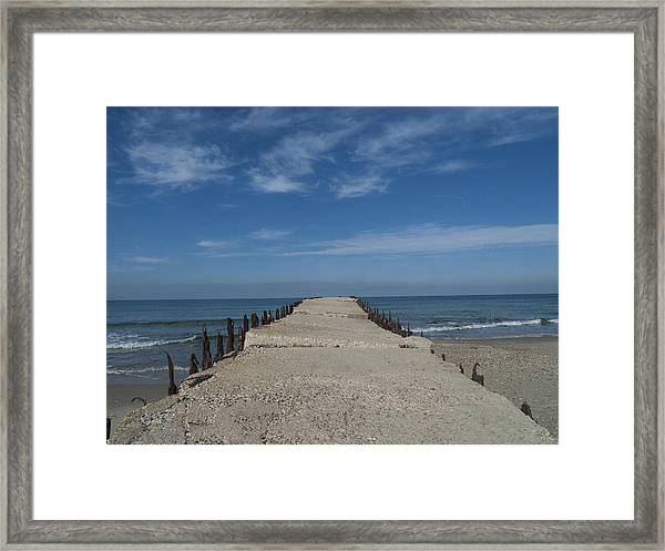 Tel Aviv Old Port 3 Framed Print