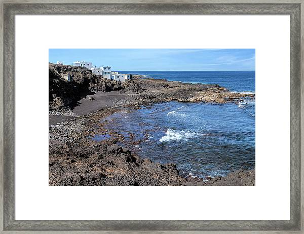 Tenesar - Lanzarote Framed Print