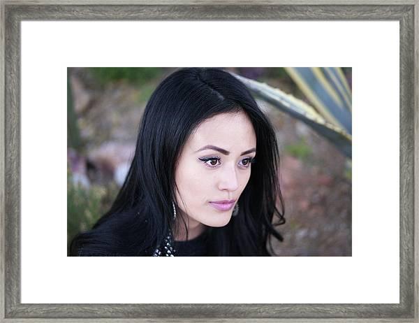 That Girl Ileen Framed Print