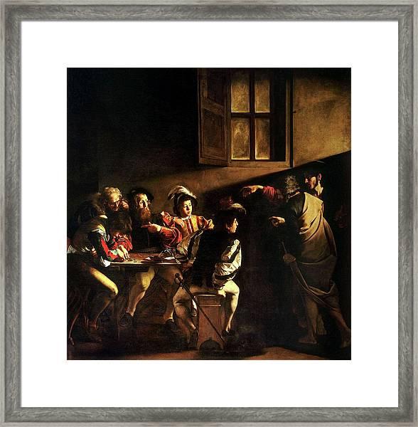 The Calling Of St. Matthew Framed Print