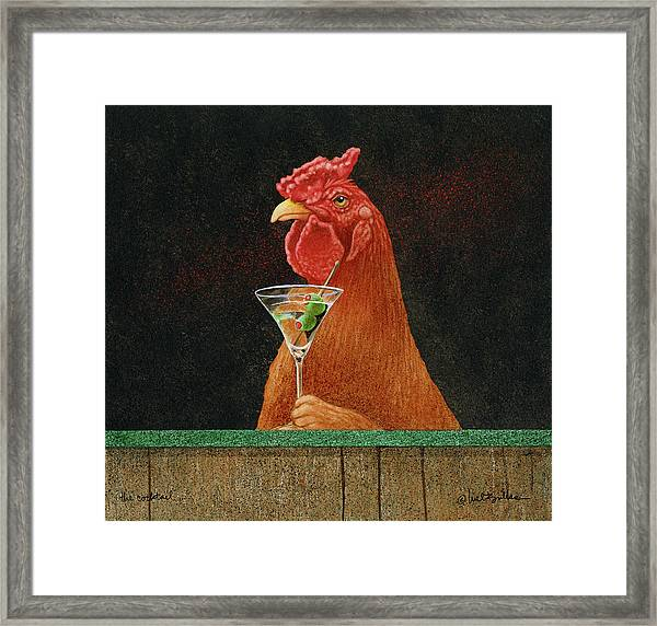 The Cocktail... Framed Print