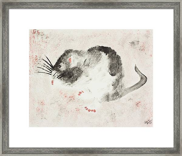 The Cool Chick Framed Print