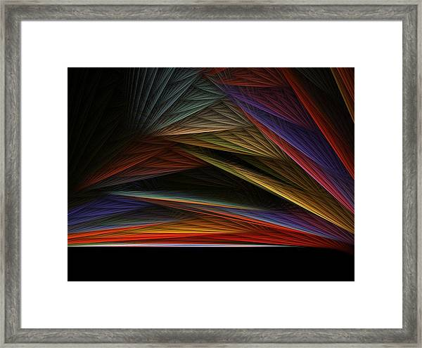 The End Of A Beautiful Day Framed Print