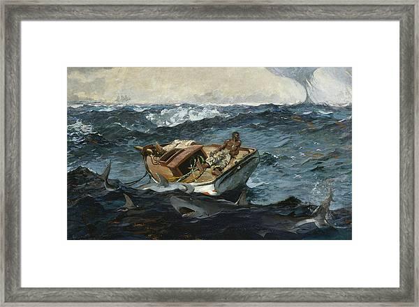 The Gulf Stream Framed Print