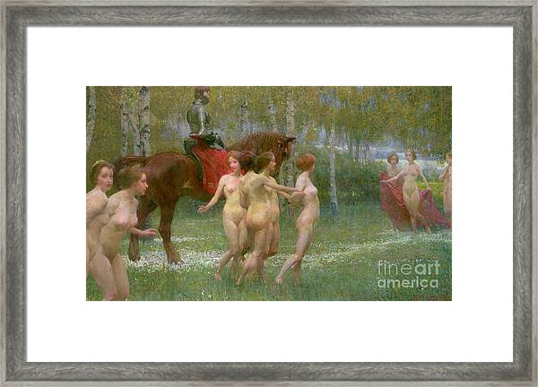 The Knights Dream Framed Print