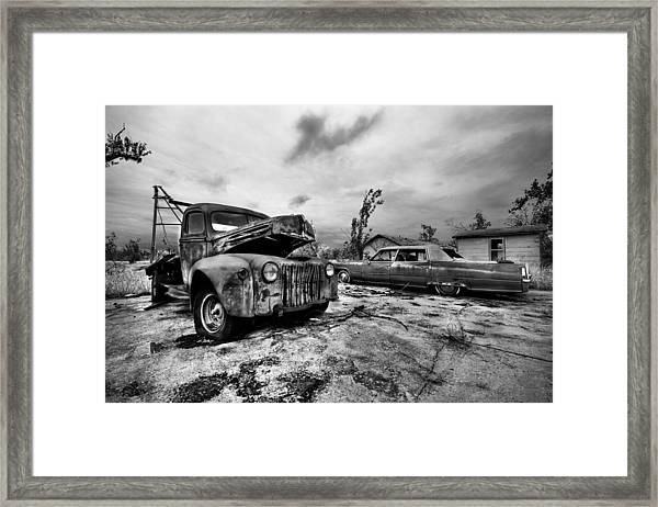 The Last Tow Framed Print