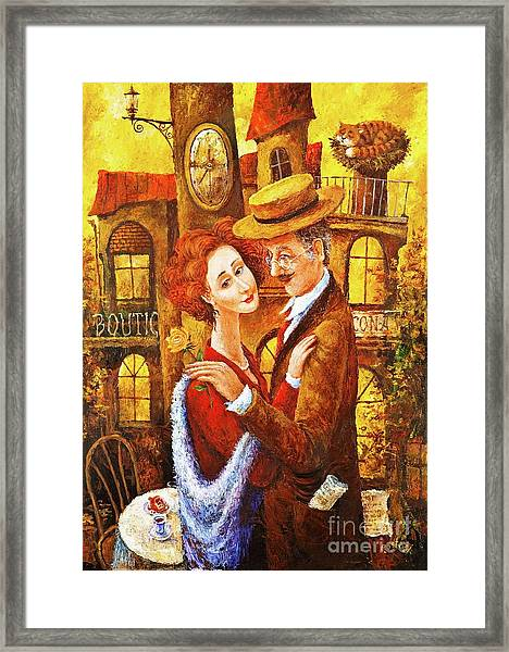 The Late Date Framed Print