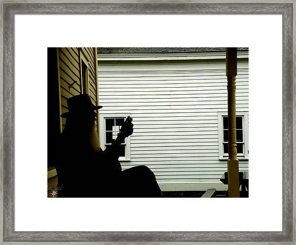 The Music Man Framed Print
