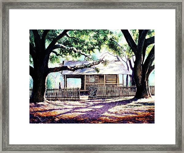 The Old Richardson Place Framed Print