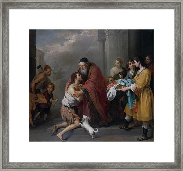 The Return Of The Prodigal Son Framed Print