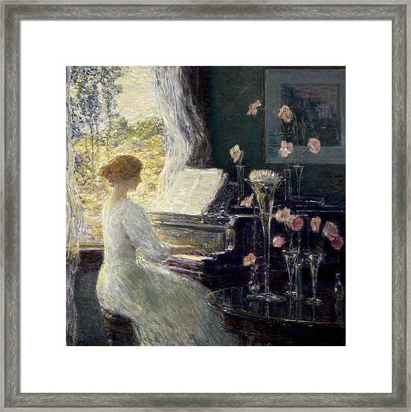 The Sonata Framed Print