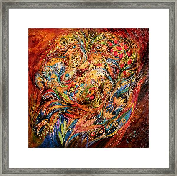 The Tale About Fiery Rooster Framed Print