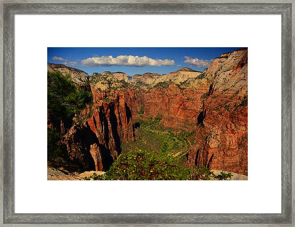 The Virgin River Framed Print