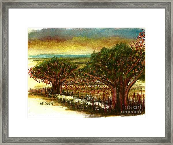 The Voices Of The Wind Framed Print