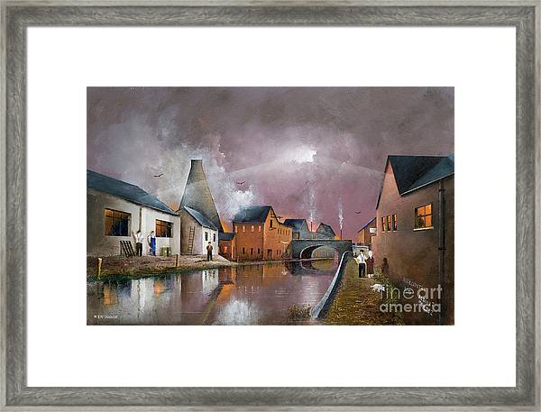 The Wordsley Cone Framed Print