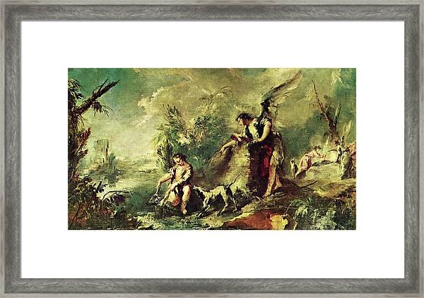 Tobias Fishing Framed Print